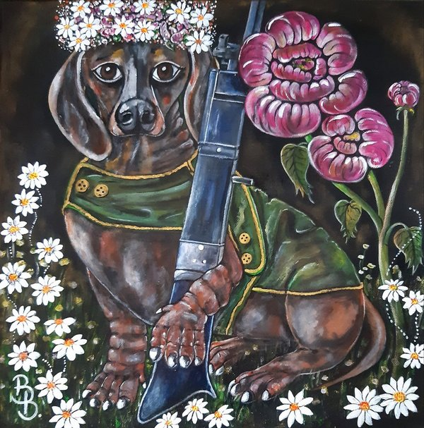 """German Hunting Dog"""